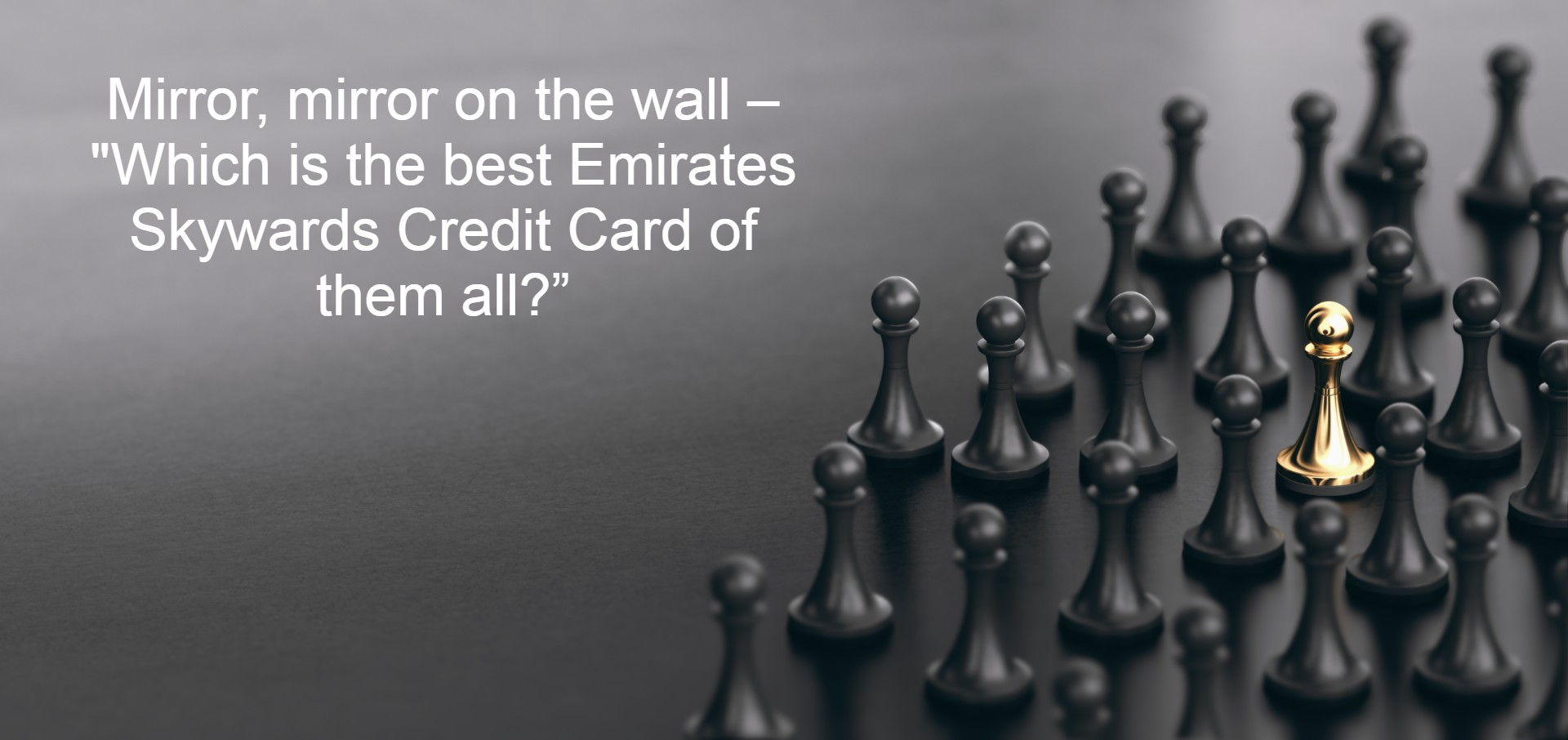 Emirates Skywards Credit Cards