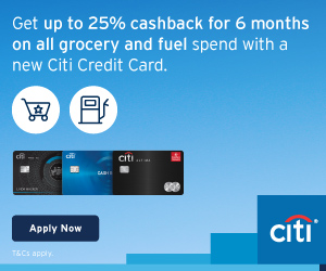 Citibank Cashback Credit Card Offers