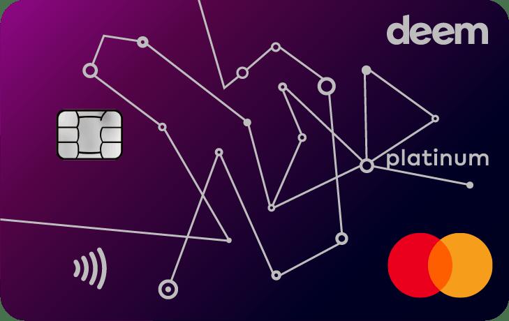 Deem Mastercard Platinum Miles Up Credit Card | Deem Credit Cards