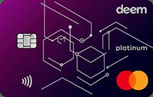 Deem Mastercard Platinum Cash Up Credit Card | Deem Credit Cards
