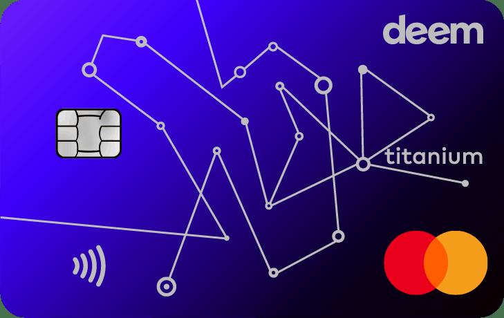 Deem Mastercard Titanium Miles Up Credit Card | Deem Credit Cards