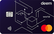 Deem Mastercard World Cash Up Credit Card | Deem Credit Cards