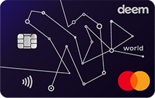 Deem Mastercard World Miles Up Credit Card
