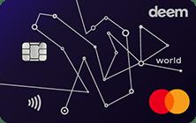 Deem Mastercard World Miles Up Credit Card | Deem Credit Cards