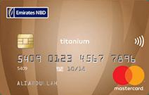 Emirates NBD MasterCard Titanium Credit Card