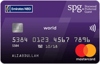 Emirates NBD Starwood Preferred Guest World Credit Card