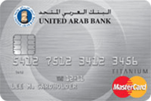United Arab Bank Titanium Credit Card
