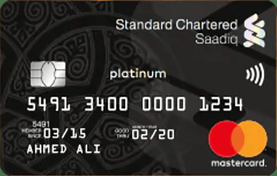Standard Chartered Saadiq Platinum (Ujrah) Card