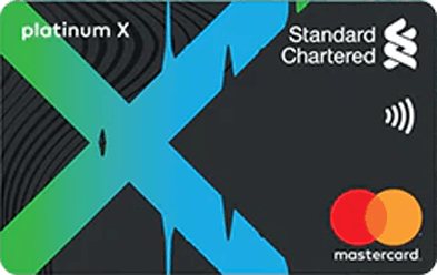 Standard Chartered Platinum X Credit Card