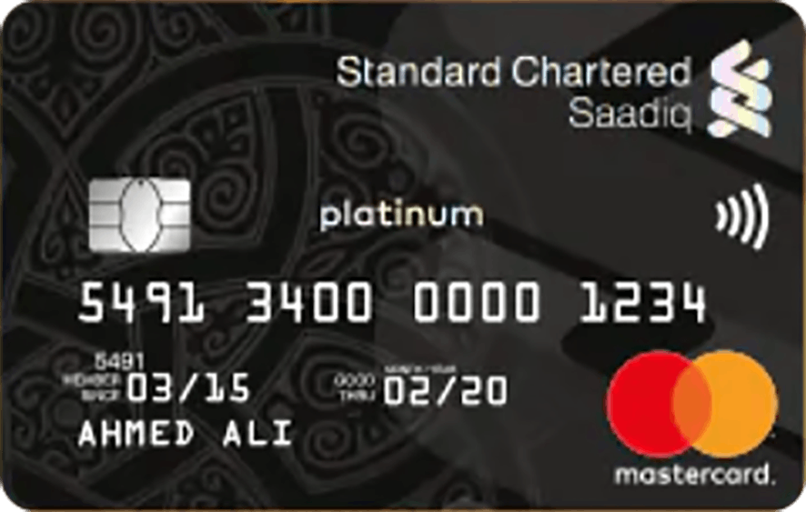 Standard Chartered Saadiq Platinum (Murabaha) Card