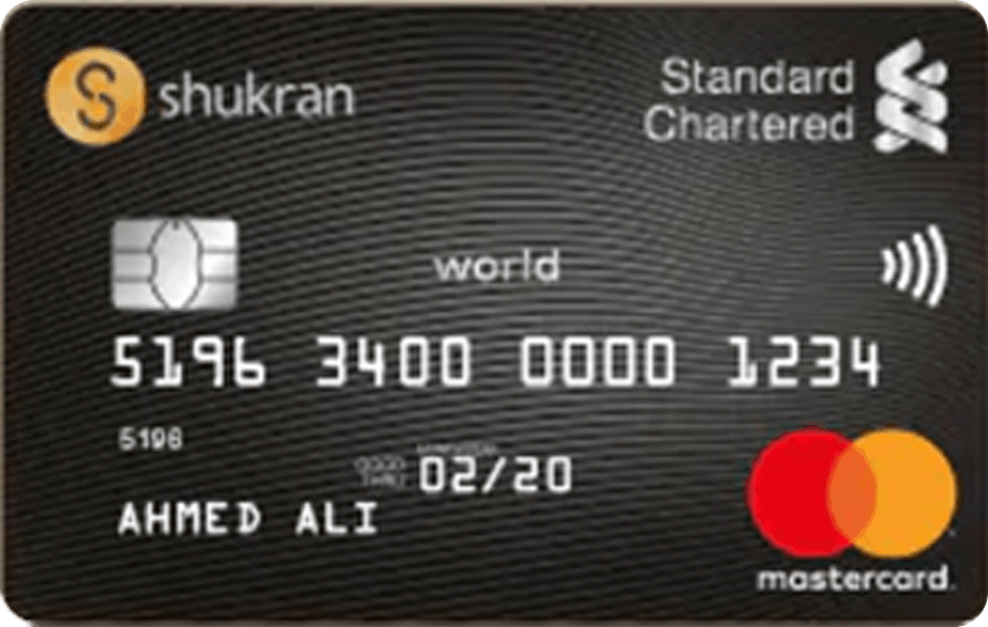 Standard Chartered Shukran World Credit Card
