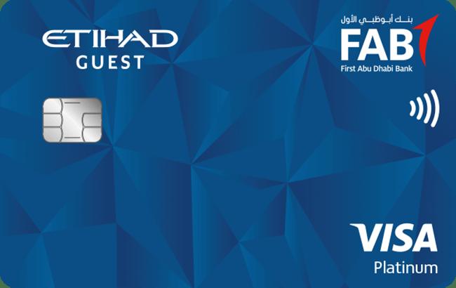 FAB Etihad Guest Platinum Credit Card |