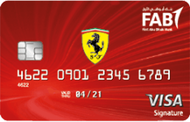 FAB Ferrari Signature Credit Card