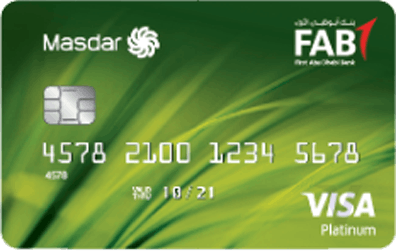 FAB Masdar Platinum Credit Card