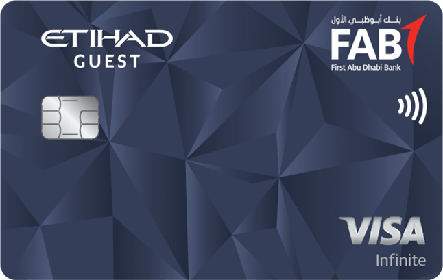FAB Etihad Guest Infinite Credit Card
