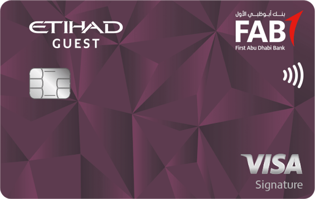 FAB Etihad Guest Signature Credit Card