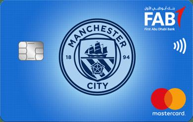 FAB Manchester City FC Titanium Card