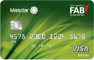 FAB Masdar Infinite Credit Card