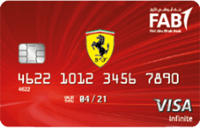 FAB Ferrari Infinite Credit Card
