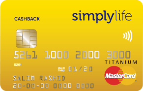 Simplylife Cashback Credit Card | Simplylife Credit Cards
