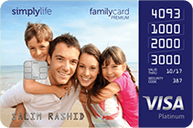 Simplylife Family Credit Card Premium | Simplylife Credit Cards