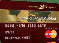 Mashreq Smartsaver Global Credit Card
