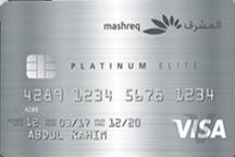 Mashreq Platinum Elite Visa Card | Mashreq Bank Credit Cards