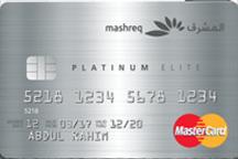 Mashreq Platinum Elite MasterCard | Mashreq Bank Credit Cards