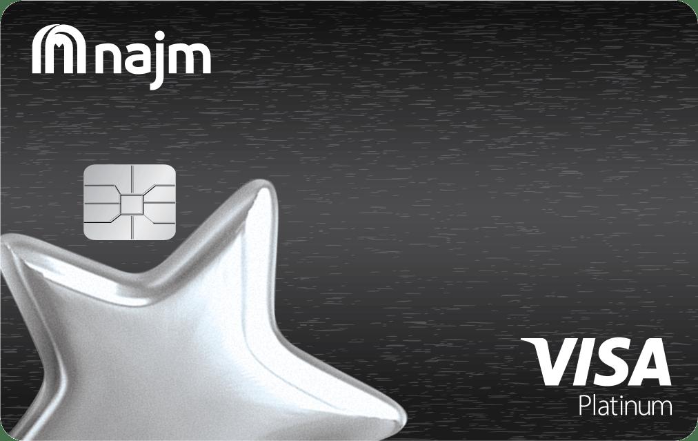 Najm Platinum Plus Cashback Card | Najm Credit Cards