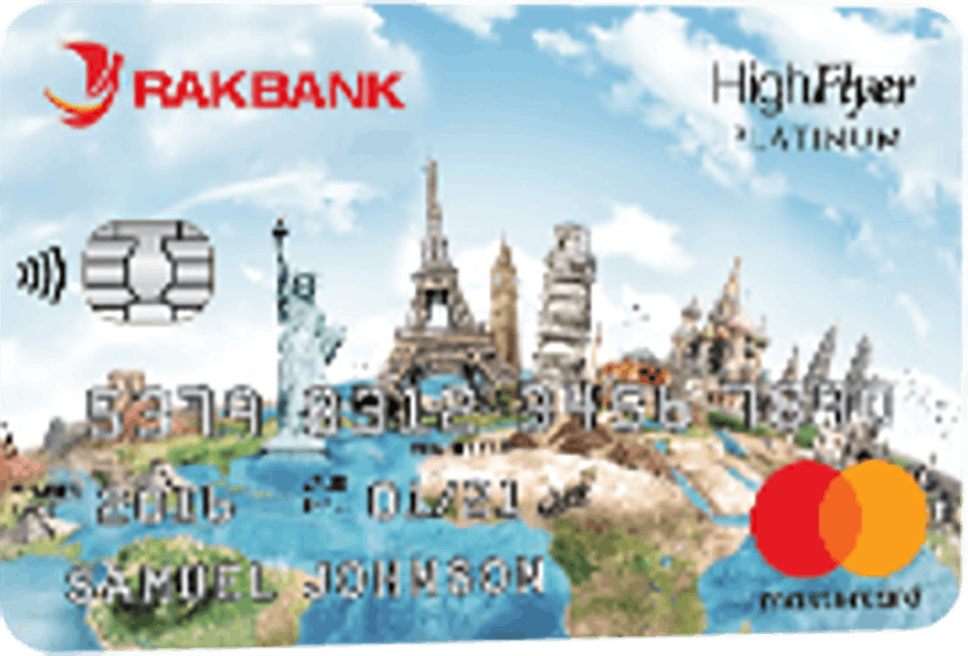 RAKBANK High Flyer Platinum Credit Card