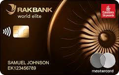 RAKBANK Emirates Skywards World Elite Mastercard Credit Card
