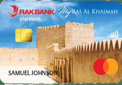 RAKBANK My Ras Al Khaimah Platinum Credit Card | RAKBANK Credit Cards