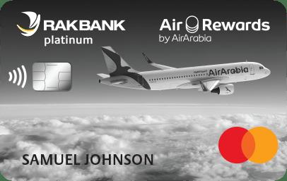 RAKBANK Air Arabia Platinum Credit Card