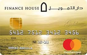 Finance House Gold Covered Card