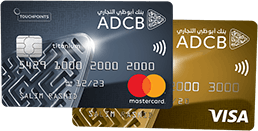 ADCB Touchpoints Gold Credit Card