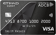 ADCB Etihad Guest Infinite Credit Card | Abu Dhabi Commercial Bank (ADCB) Credit Cards