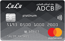 ADCB Lulu Platinum Credit Card
