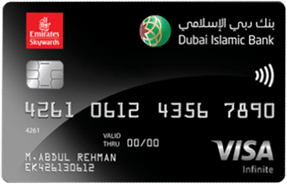 Dubai Islamic Emirates Skywards Infinite Credit Card