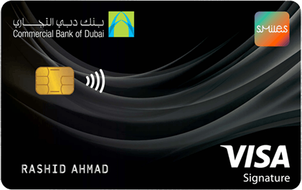 CBD Smiles Visa Signature | Commercial Bank of Dubai (CBD) Credit Cards