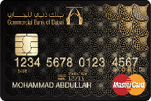 CBD World Mastercard | Commercial Bank of Dubai (CBD) Credit Cards