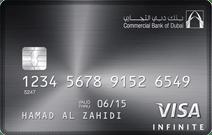CBD Visa Infinite Card | Commercial Bank of Dubai (CBD) Credit Cards