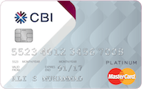 CBI Rewards Platinum Mastercard