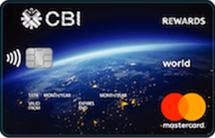 CBI Rewards World Mastercard | Commercial Bank International (CBI) Credit Cards