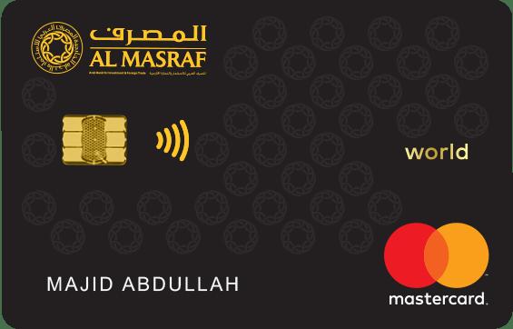 Al Masraf World Mastercard | Al Masraf Credit Cards