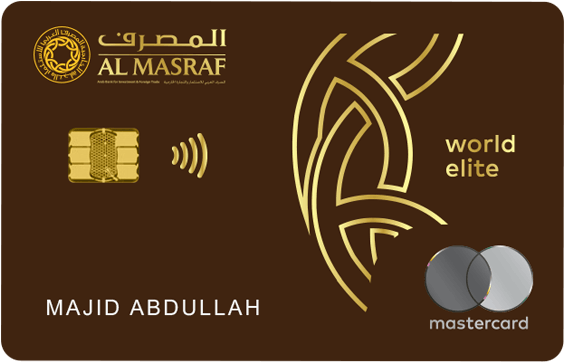 Al Masraf World Elite Mastercard