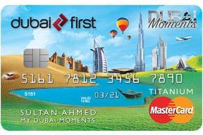 Dubai First Dubai Moments Platinum Card | Dubai First Credit Cards