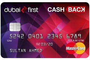 Dubai first Cashback Card