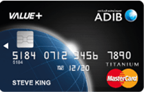 ADIB Value+ Card