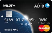 ADIB Value+ Card | Abu Dhabi Islamic Bank (ADIB) Credit Cards