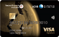 ADIB Rotana Rewards Exclusive Visa Card